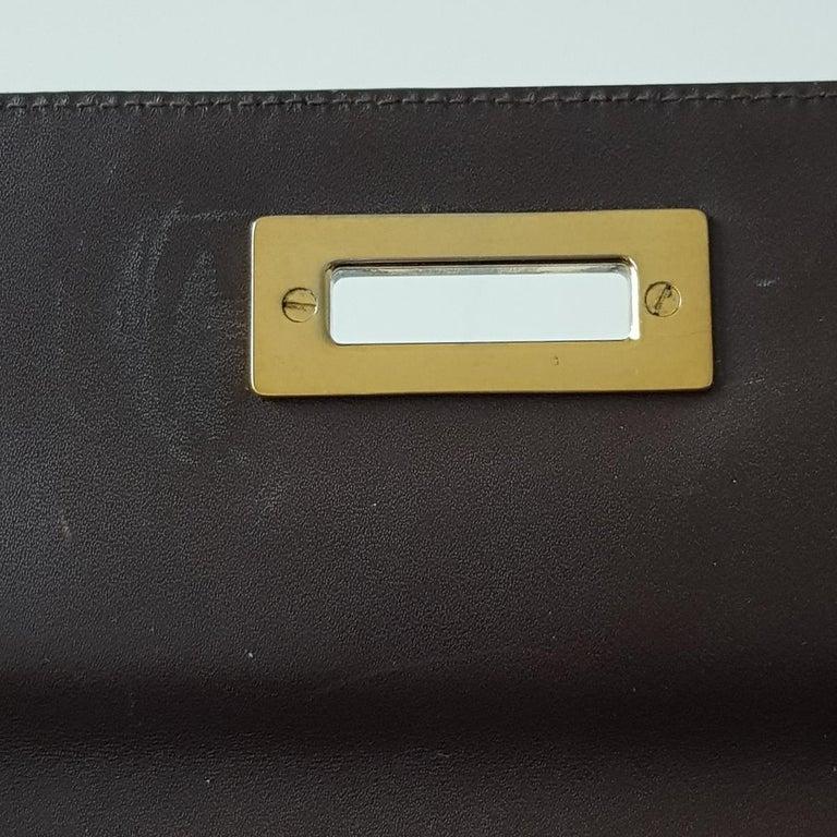 Gianni Versace Leather Vintage Bag For Sale 1