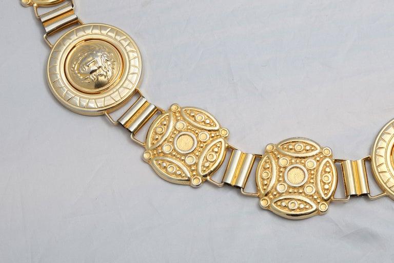 Women's or Men's Gianni Versace Massive Medusa Belt