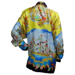 Gianni Versace Nautical Silk Shirt