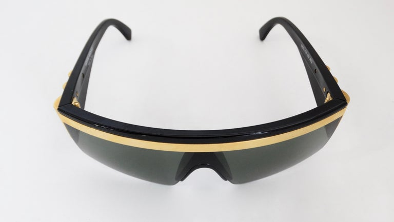 Gianni Versace Rare 1980s Update Sunglasses For Sale 5
