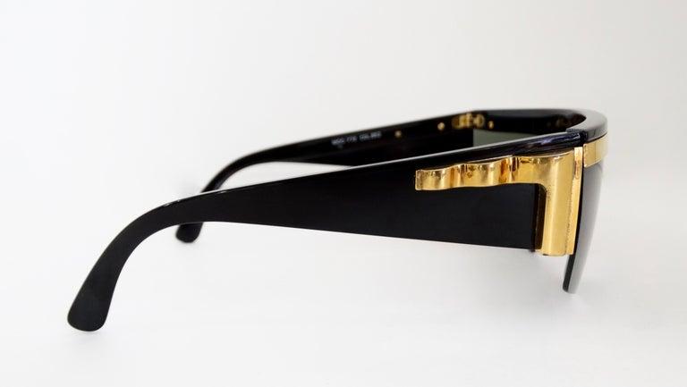 Gianni Versace Rare 1980s Update Sunglasses For Sale 6