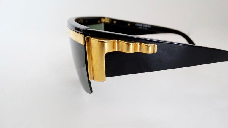 Gianni Versace Rare 1980s Update Sunglasses For Sale 1