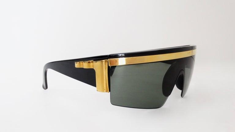 Gianni Versace Rare 1980s Update Sunglasses For Sale 2