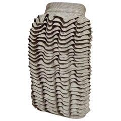 Gianni Versace Ruffle Skirt 1990s