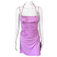 Gianni Versace S/S 2000 Vintage Bustier Mini Dress