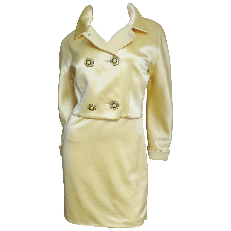 Gianni Versace Silk Dress and Jacket 1990s