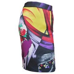 Gianni Versace Silk Skirt