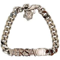 Gianni Versace silver tone Versace bracelet