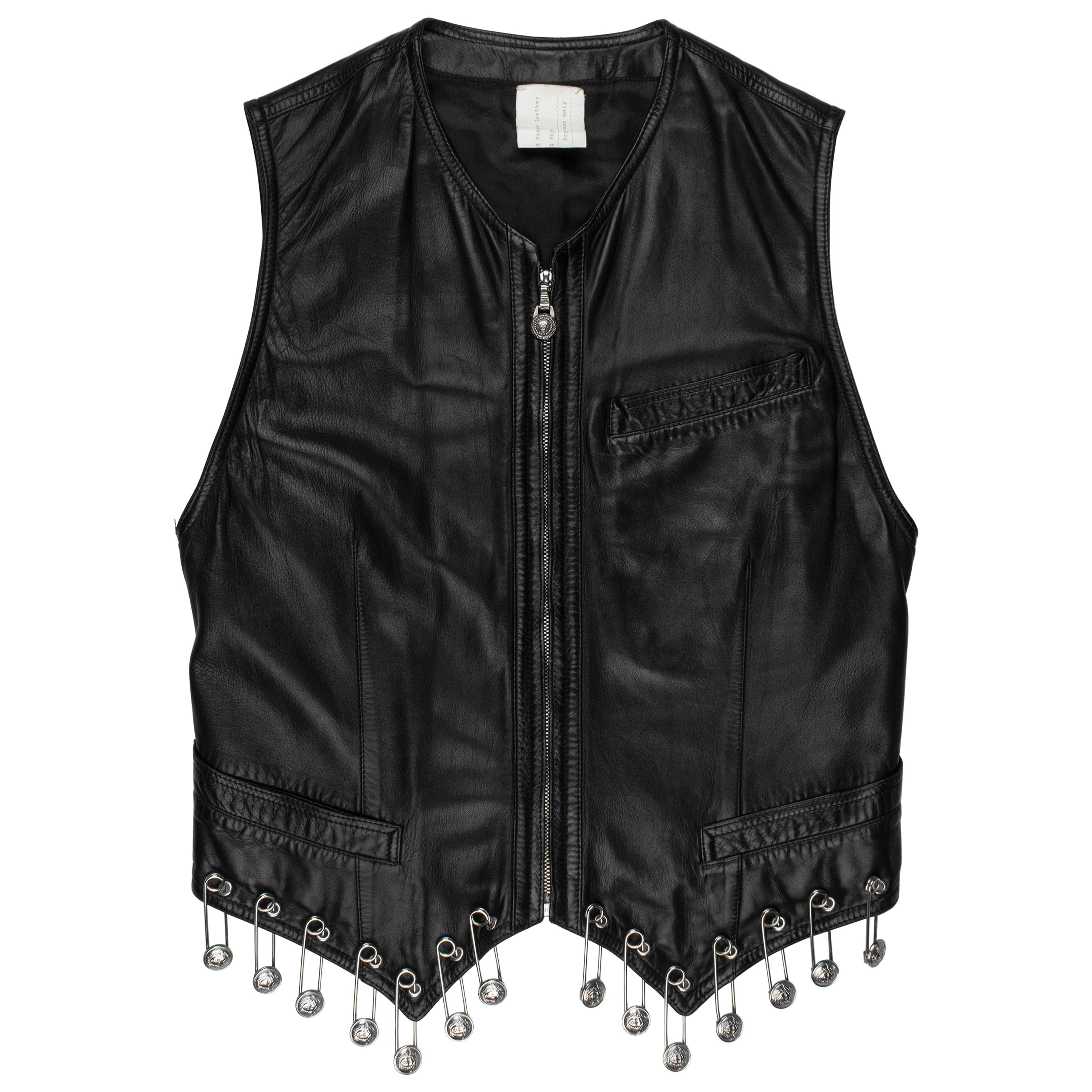 Gianni Versace SS1994 Safety Pin Vest