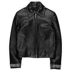 Gianni Versace Studded Leather Jacket