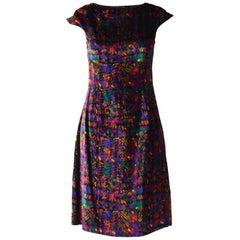 Gianni Versace Versus Purple Velvet Party Dress