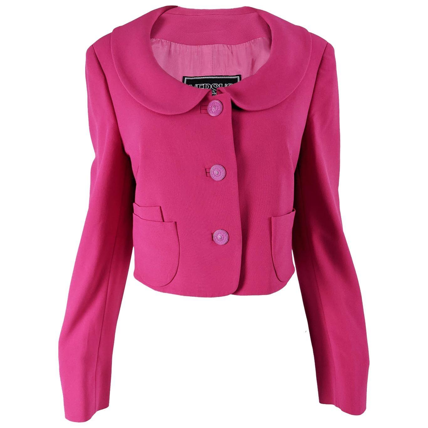 Gianni Versace Versus Vintage Pink Jacket