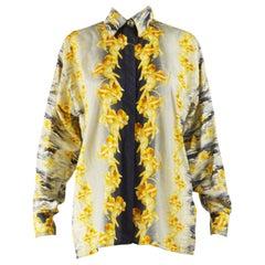 Gianni Versace Versus Vintage Silk Shirt