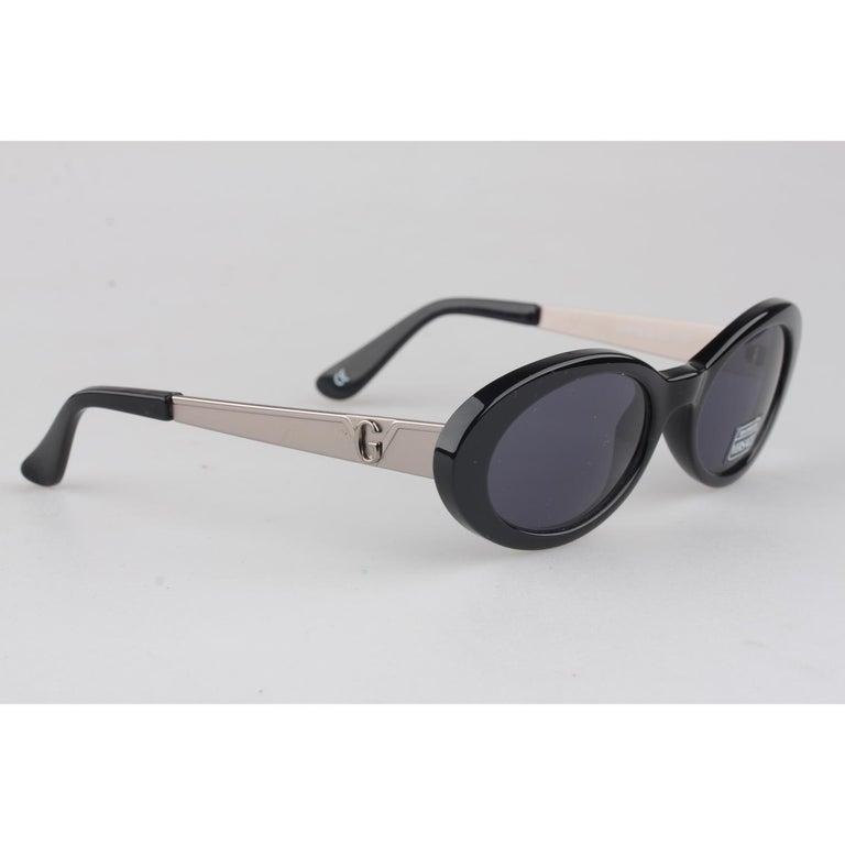 c576afcf38 Gianni Versace Vintage Black Sunglasses Mod. 451G Col 852 New Old ...