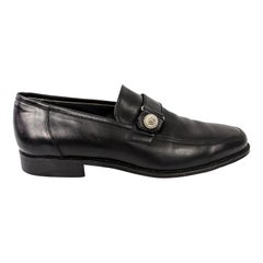 Gianni Versace Vintage Mens Medusa Head Loafers Shoes