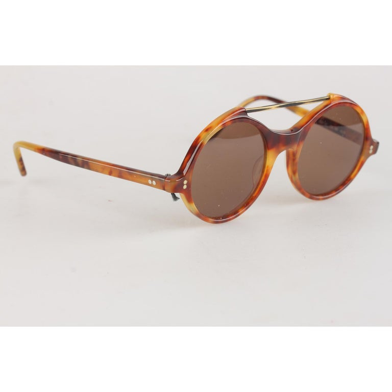38a562b4d10d1 Gianni Versace Vintage Round Sunglasses Mod. 531 45mm New Old Stock ...