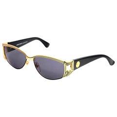 Gianni Versace Vintage Sunglasses Mod S 62 Col 18L