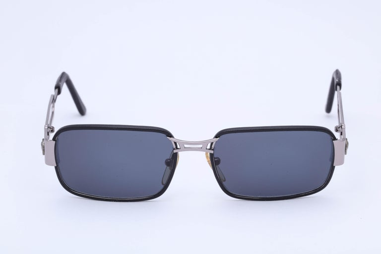 Gianni Versace Vintage Sunglasses Mod S55/P In Excellent Condition In Chicago, IL