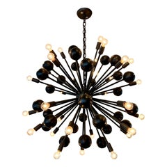 Giant 60-Arm Sputnik Chandelier