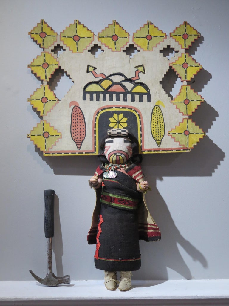 American Giant Hopi Maiden Katchina For Sale