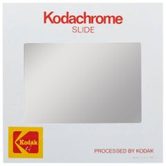 Giant Kodachrome Slide Mirror with Cabinet by Think Big! NY, 1985