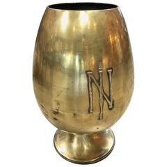 Giant Napoleonic Egg-Shaped Urn, Italy, 19th Century