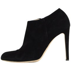 Gianvito Rossi Black Suede Ankle Boot sz 39