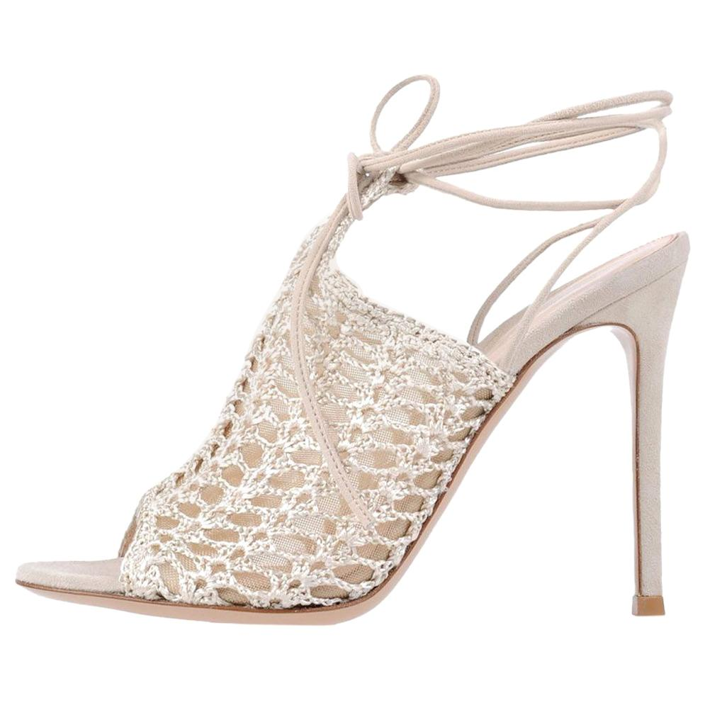 b2b2bcc085 Gianvito Rossi Calabria Crystal-Embellished Pumps For Sale at 1stdibs