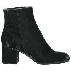 Gianvito Rossi Woman Ankle boots Grey Fabric IT 36