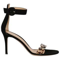 Gianvito Rossi Woman Sandals Black EU 37.5