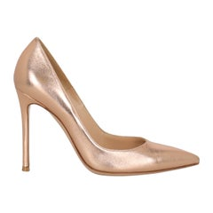 Gianvito Rossi Women  Pumps Pink Leather IT 37