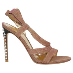 Gianvito Rossi Women  Sandals Pink Synthetic Fibers IT 36.5