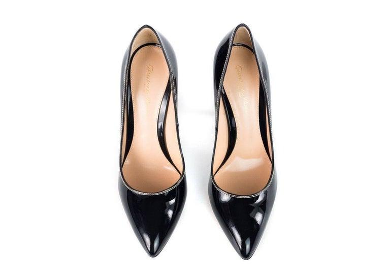 Gianvito Rossi Women's Black Patent Leather Pumps For Sale ...