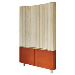 Gibbous Corner Cabinet by Jude Heslin Di Leo