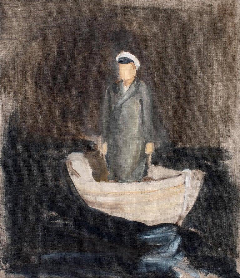 Gideon Rubin Figurative Painting - Untitled