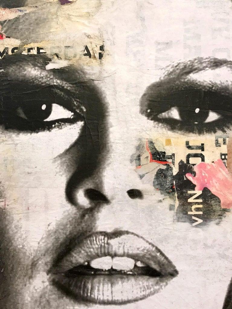 She's Your Friend, Pop Art Portrait of Brigitte Bardot For Sale 8