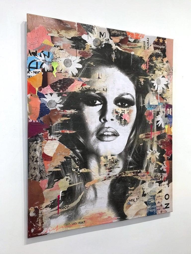She's Your Friend, Pop Art Portrait of Brigitte Bardot For Sale 15