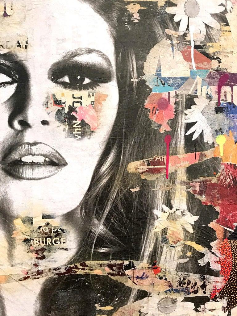 She's Your Friend, Pop Art Portrait of Brigitte Bardot For Sale 1