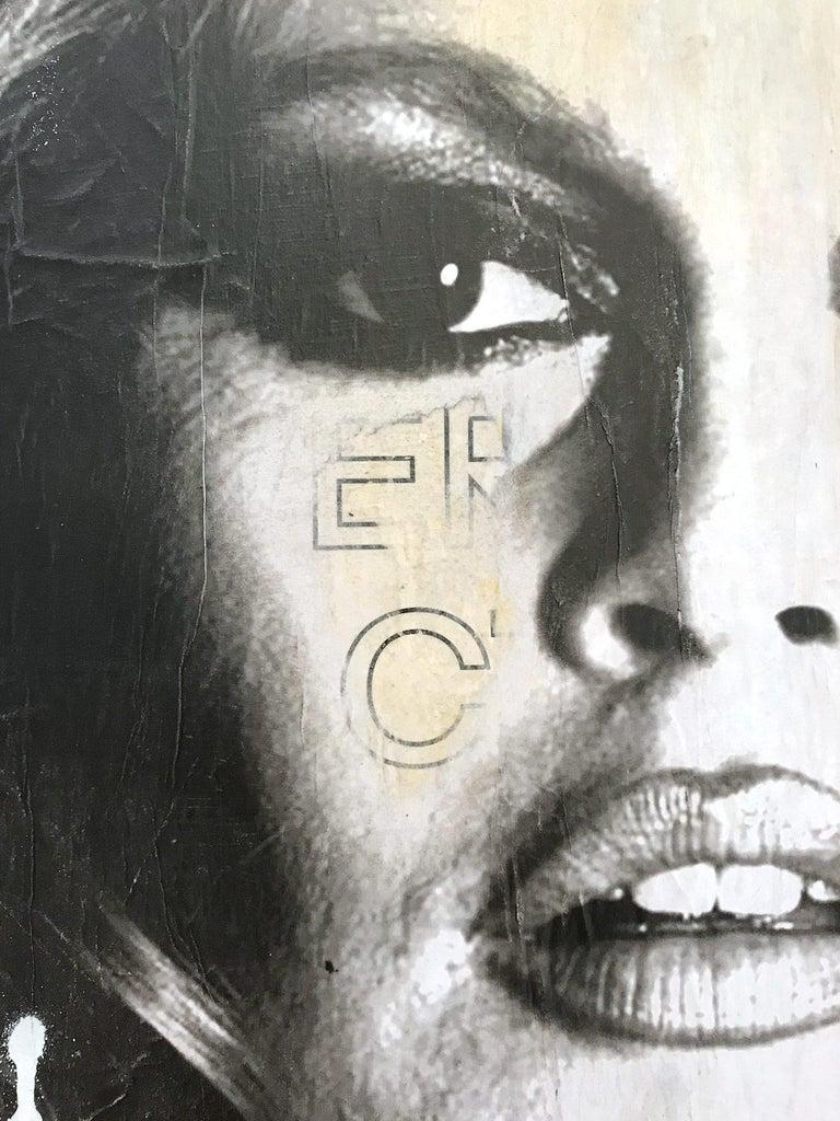 She's Your Friend, Pop Art Portrait of Brigitte Bardot For Sale 2
