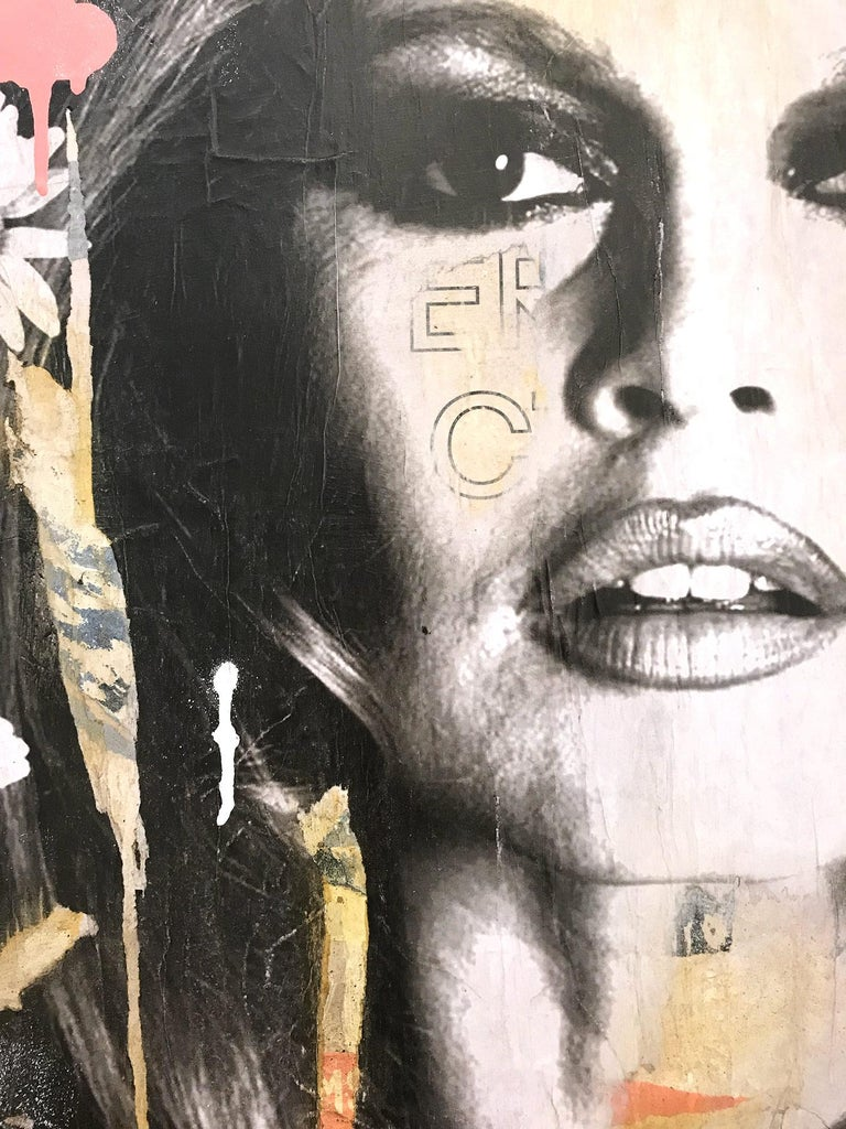 She's Your Friend, Pop Art Portrait of Brigitte Bardot For Sale 5