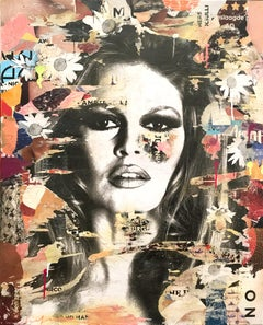 She's Your Friend, Pop Art Portrait of Brigitte Bardot