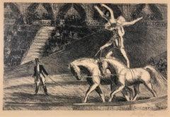 Bareback Act, Old Hippodrome