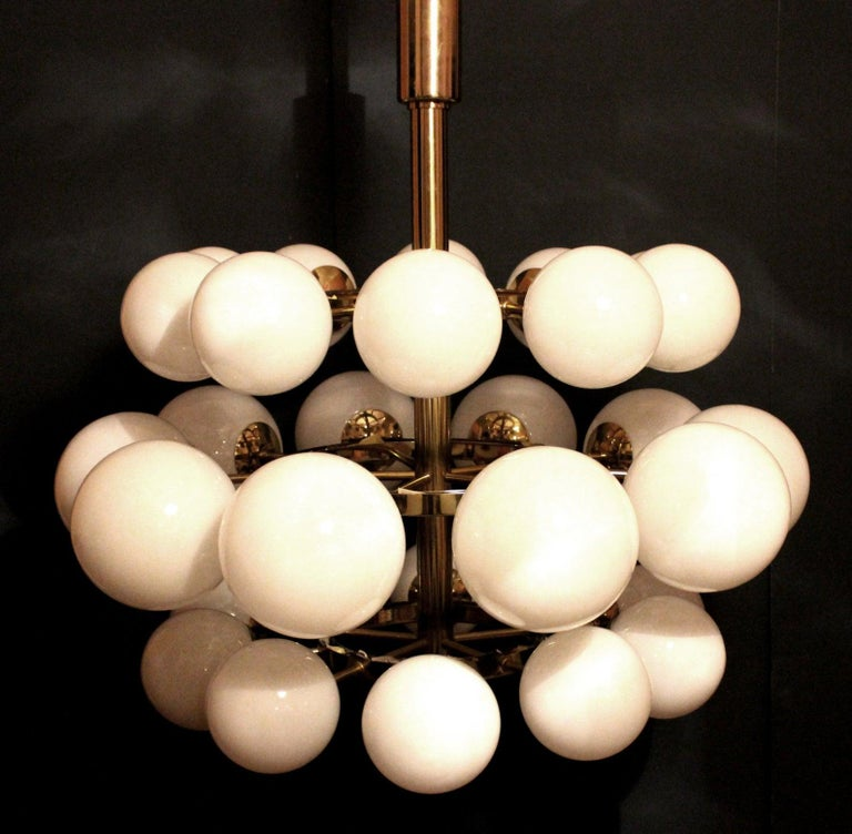 Gigantic Cinema Concert Hall Ceiling Lamp, Germany, 1960s-1970s In Good Condition For Sale In Berlin, DE