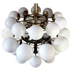 Gigantic Cinema Concert Hall Ceiling Lamp, Germany, 1960s-1970s
