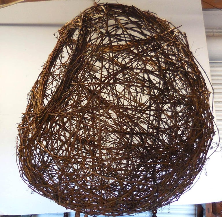 Gigantic Grapevine Bird's Nest Sculpture For Sale 2