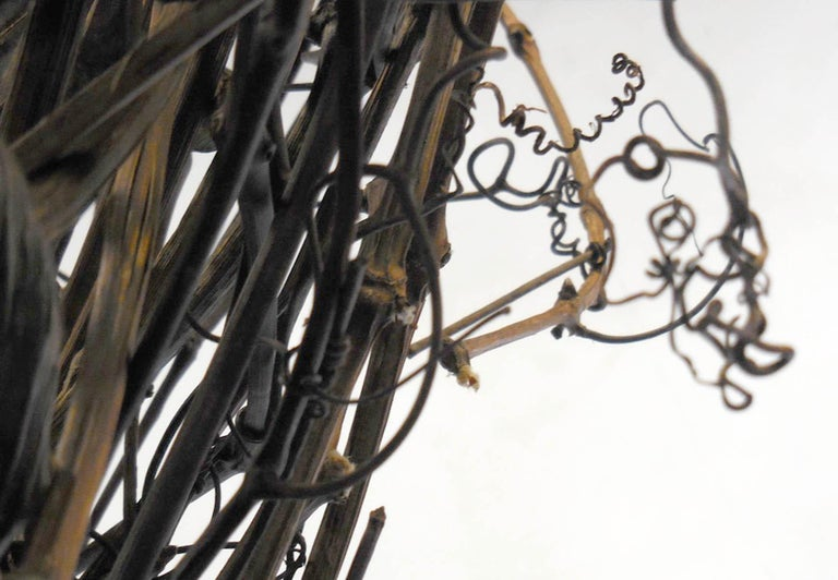 Gigantic Grapevine Bird's Nest Sculpture For Sale 5