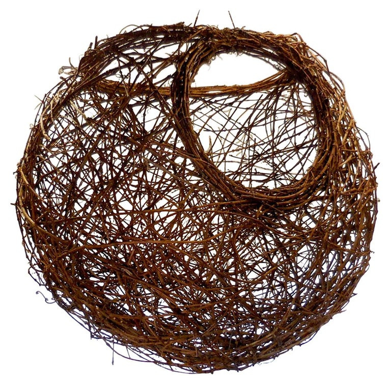 Gigantic Grapevine Bird's Nest Sculpture For Sale