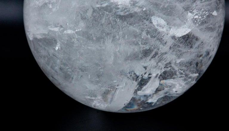 Gigantic Rock Crystal Sphere For Sale 1