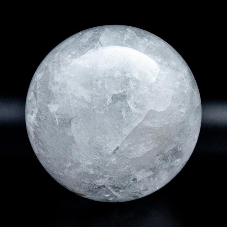 Gigantic Rock Crystal Sphere For Sale 2