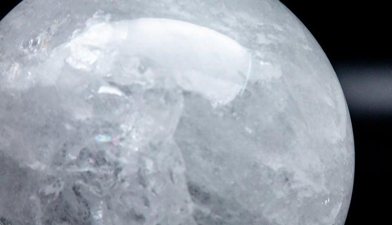 Gigantic Rock Crystal Sphere For Sale 3